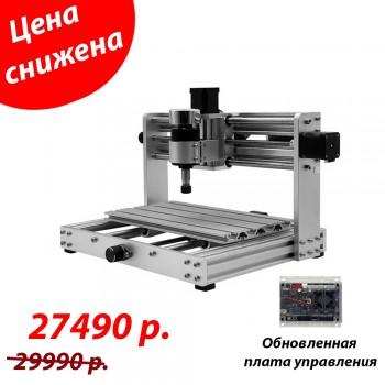 CNC 3018 Алюминиевый, ЧПУ станок с рабочим полем 18 х 30 см