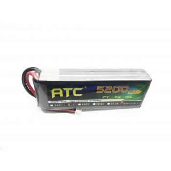 Аккумулятор Li-Po 5200 mah, 3S, 25C, 11.1 вольт