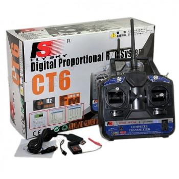Fly Sky CT6B Аппаратура 6-и канальная + приемник