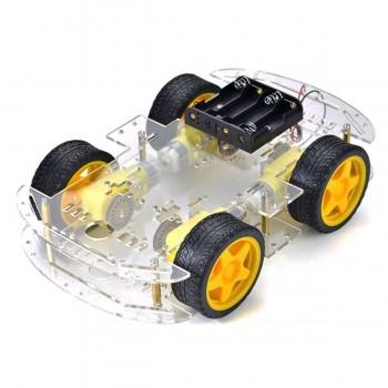 Kit набор для сборки робота  Arduino на 4 колесах