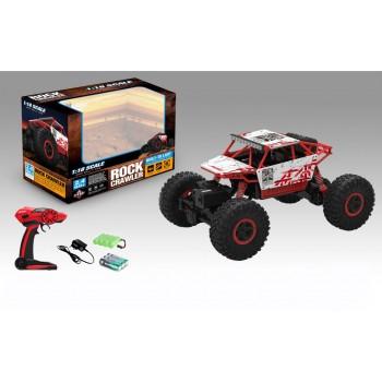 Машинка 4WD полный привод, масштаб 1:18