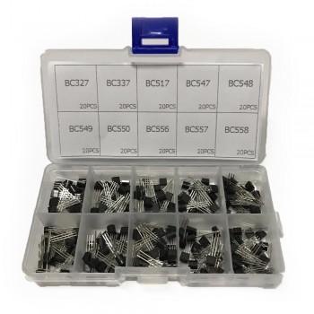 Стартовый набор из 200 транзисторов 10 моделей
