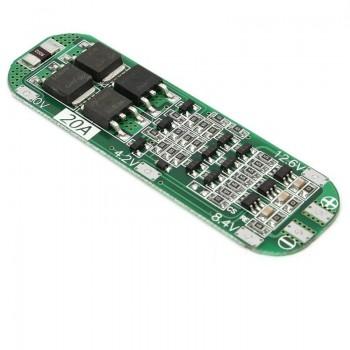 Плата защиты PCB для  литиевых батарей 3s 12.6 В