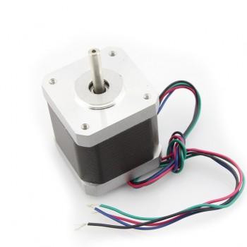 Шаговый мотор Nema 17, 4.8кг/см, 1.5А