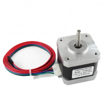 Шаговый мотор Nema 17HS4401, 4кг/см